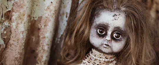 damaged doll