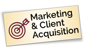 Link to Marketing and Client Acquisition Courses
