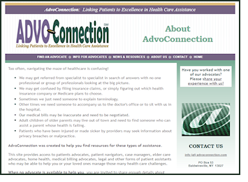 old AdvoConnection site