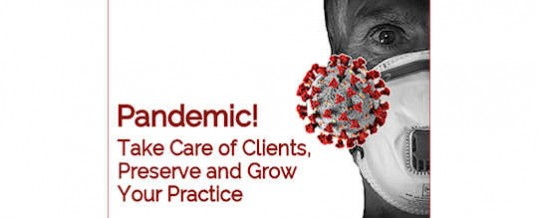 Pandemic! Improve Your Service to Clients and Grow Your Practice
