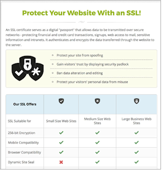 SSL table